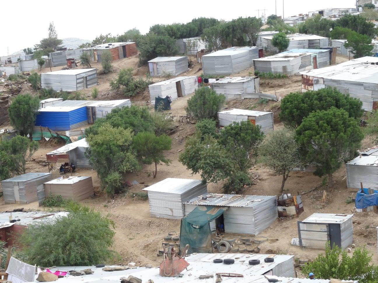 An informal settlement